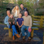 Family photoshoot, Pontypool