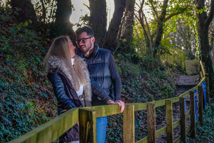 South Wales pre-wedding photoshoot