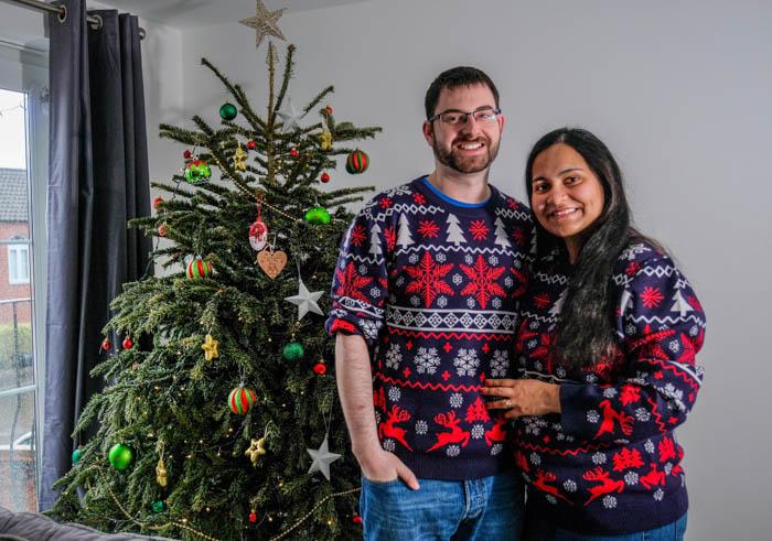 Christmas photoshoot, Cwmbran