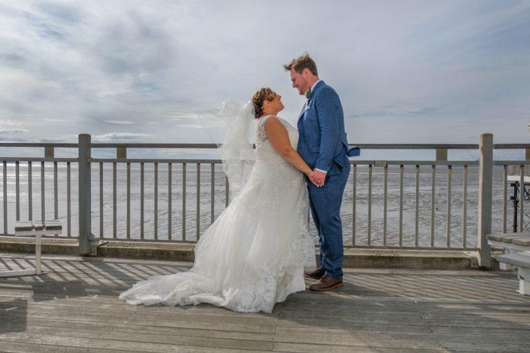 weston super mare grand pier somerset wedding photography