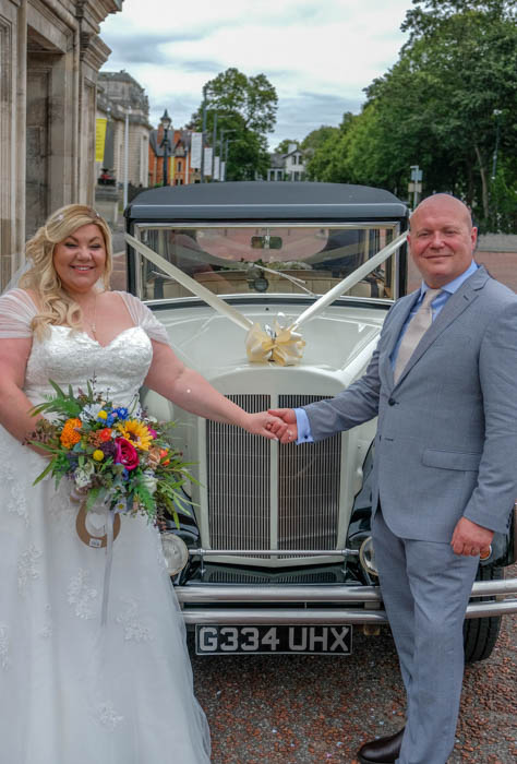 Cardiff city hall south wales wedding photography